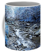 Ice Blue Forest Coffee Mug