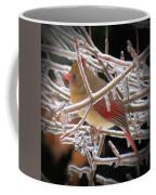 Ice Cage - Female Cardinal Coffee Mug