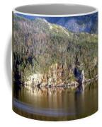 Ice Cliff In Autumn Coffee Mug