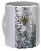 Ice Climbing In The South Fork Valley Coffee Mug by Bobby Model