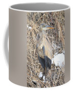 Ice Cold Heron Coffee Mug