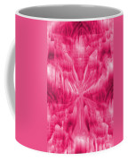 Ice Crystal Angel - Pink Coffee Mug