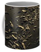 Ice Crystals Form On Frozen Creek Coffee Mug