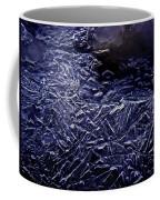 Ice Crystals In River Coffee Mug