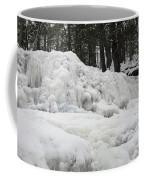 Ice Formations At Garwin Falls Coffee Mug