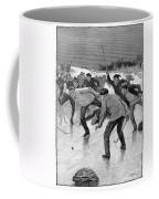 Ice Hockey, 1898 Coffee Mug by Granger