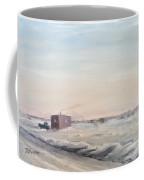 Ice Houses On Mille Lacs  Coffee Mug