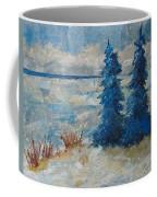 Ice On Lake Erie Coffee Mug