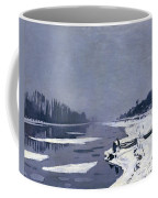 Ice On The Seine At Bougival Coffee Mug