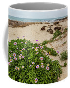 Ice Plant Booms On Pebble Beach Coffee Mug