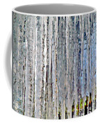 Ice Sickle Curtains Coffee Mug