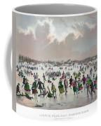 Ice Skating, C1859 Coffee Mug