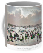 Ice Skating, C1859 Coffee Mug