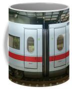 Ice Train At Berlin Station Coffee Mug