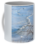 Ice Waves Coffee Mug