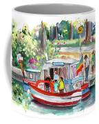 Icecream Boat In York Coffee Mug