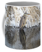 Iced Heron Coffee Mug