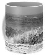 Iceland Black Sand Beach Wave One  Coffee Mug