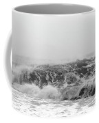 Iceland Black Sand Beach Wave Three Coffee Mug