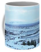 Iceland Mountains Lakes Roads Bridges Iceland 2 2112018 0945 Coffee Mug