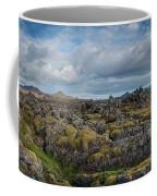 Icelands Mossy Volcanic Rock Coffee Mug