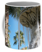 Icicles In A Palm Filled Sky Number 1 Coffee Mug