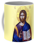 Icon Of Christ In Jericho Coffee Mug