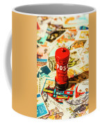Iconic British Mailbox Coffee Mug