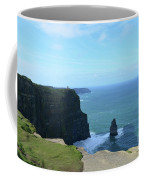 Iconic Needle Rock Formation And The Cliff's Of Moher Coffee Mug