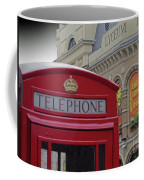 Iconic Postbox And Lyceum Theatre Coffee Mug