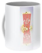 Iconic Striped Popcorn Carton Coffee Mug