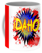 Idaho Comic Exclamation Coffee Mug