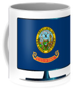 Idaho Flag Tv Coffee Mug