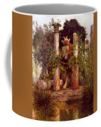 Idyll Pan Amidst Columns 1875 Coffee Mug