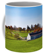 Idyllic Autumn Farm Coffee Mug