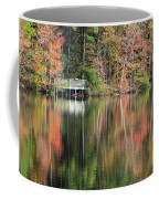 Idyllic Autumn Reflections Coffee Mug