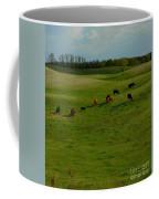 Idyllic Cows In The Hills Coffee Mug