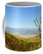 Idyllwild Mountain View With Dead Tree Coffee Mug