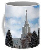 If Temple Dusted In Snow Coffee Mug