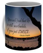 If You Just Smile Coffee Mug