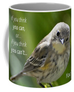 If You Think You Can - Henry Ford Coffee Mug