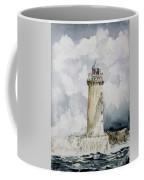 ighthouse Kereon Ouessant island Britain Coffee Mug