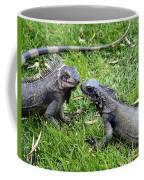 Iguana Kisses St Thomas Coffee Mug