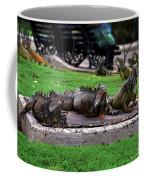Iguana Trio Coffee Mug