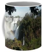 Iguazu Falls Panoramic View Coffee Mug