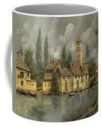 Il Borgo Sul Fiume Coffee Mug by Guido Borelli