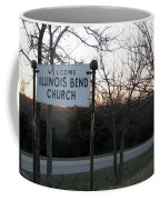Illinois Bend Church Sign Coffee Mug