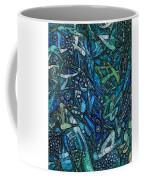 Illuminated Blue Coffee Mug
