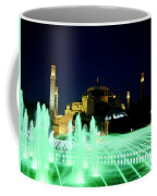 Illuminated Fountain Of Istanbul Coffee Mug