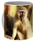Illuminated Vervet Monkey  Coffee Mug